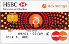 HSBC Advantage Classic Card Kredi Kartı