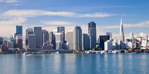 New York - San Francisco flight ticket